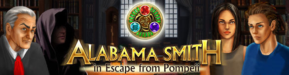 Alabama Smith in Escape from Pompeii