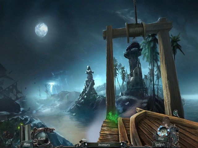 Screenshot van het spel  «Nightmares from the Deep: Het Vervloekte Hart Collector's Edition» № 1