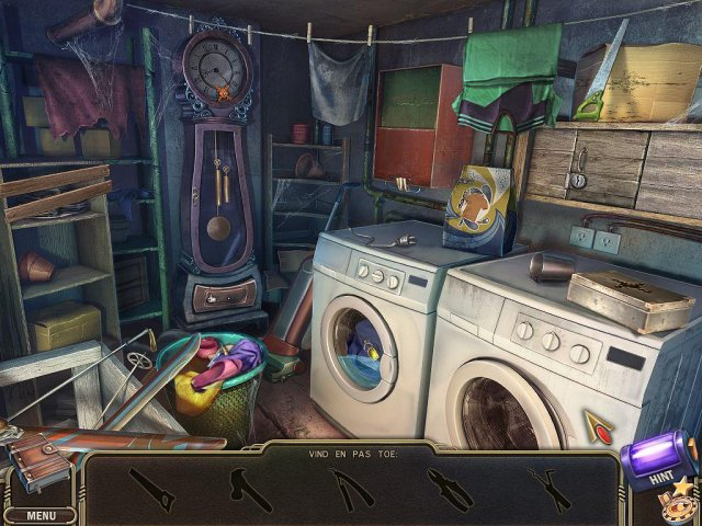 Screenshot van het spel  «Paranormal Pursuit: The Gifted One. Collector's Edition» № 3
