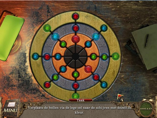 Screenshot van het spel  «The Book of Desires» № 2