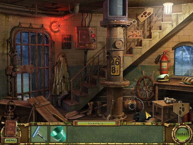 Screenshot van het spel  «The Treasures of Mystery Island 2: The Gates of Fate» № 2