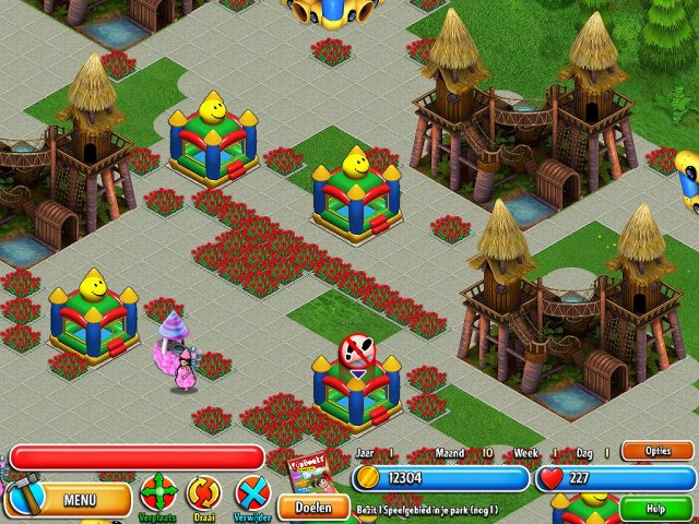 Screenshot van het spel  «Dream Builder: Pretpark» № 1