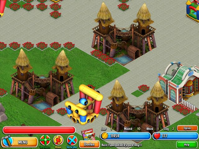 Screenshot van het spel  «Dream Builder: Pretpark» № 4