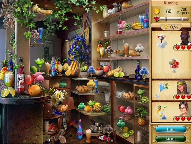 Screenshot van het spel  «Gourmania 2: Great Expectations» № 1