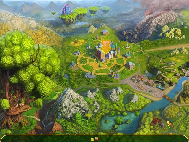 Screenshot van het spel  «Magic Farm 2: Elfenlanden» № 3