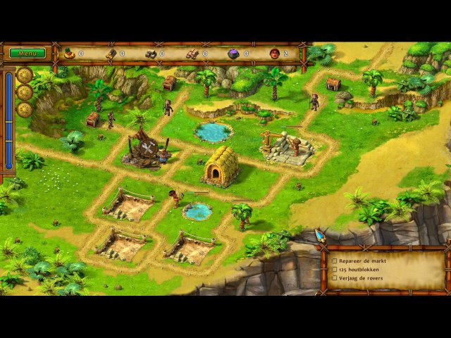 Screenshot van het spel  «Moai: Build Your Dream» № 4