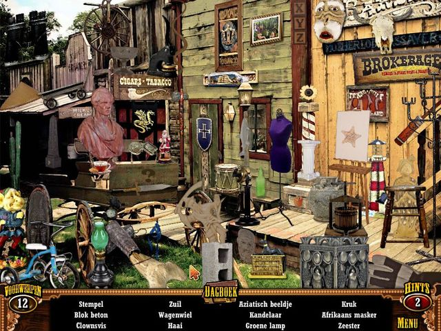 Screenshot van het spel  «Wild West Quest» № 3