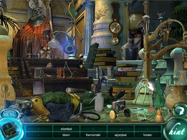 Screenshot van het spel  «Empress of the Deep: The Darkest Secret» № 2