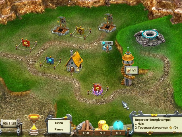 Screenshot van het spel  «Age of Adventure: Playing the Hero» № 2