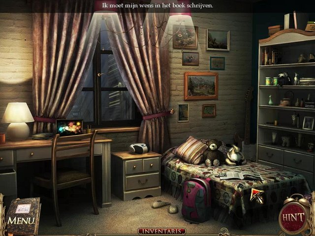 Screenshot van het spel  «The Book of Desires» № 4