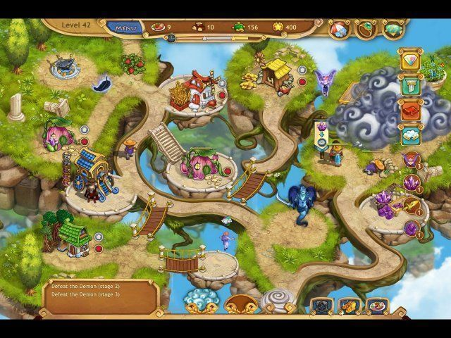 Screenshot van het spel  «Weather Lord: Royal Holidays. Collector's Edition» № 1