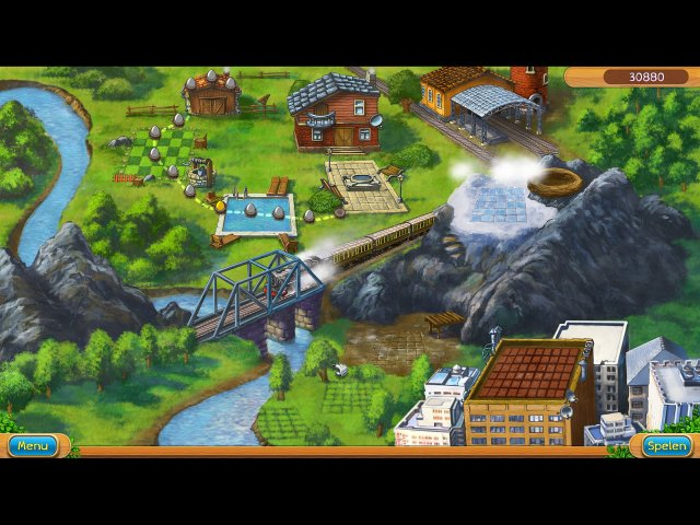 Screenshot van het spel  «Claws and Feathers» № 1