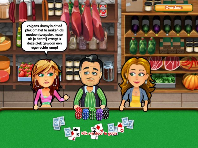 Screenshot van het spel  «Hometown Poker Hero. Premium Edition» № 1