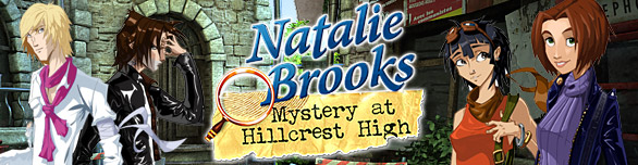 Natalie Brooks - Mystery at Hillcrest High