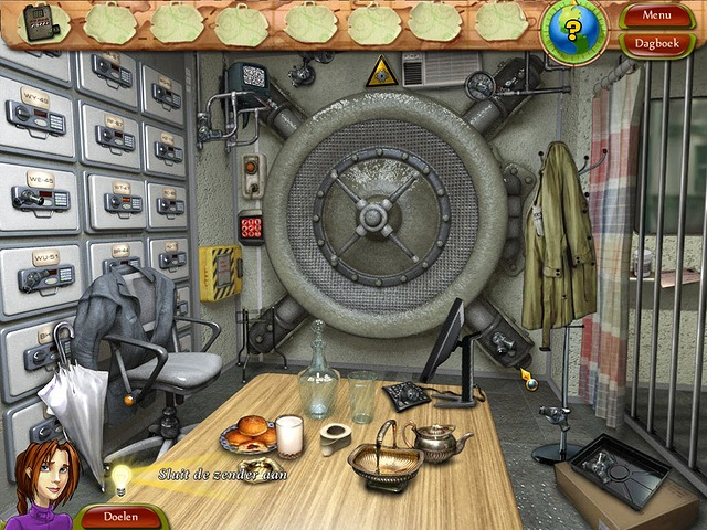 Screenshot van het spel  «Natalie Brooks - The Treasures of the Lost Kingdom» № 6