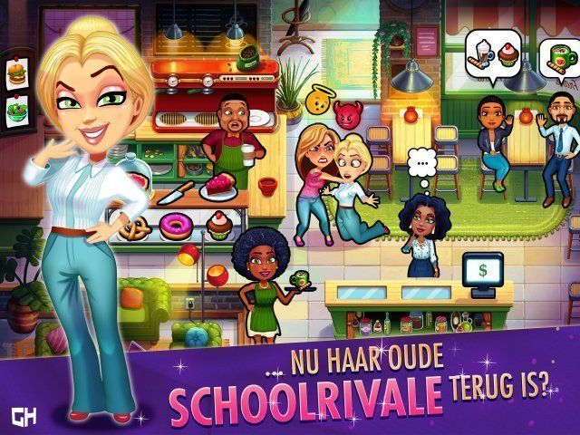Screenshot van het spel  «Fabulous - Angela's High School Reunion. Collector's Edition» № 4
