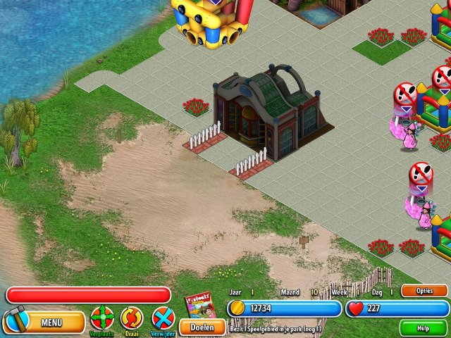 Screenshot van het spel  «Dream Builder: Pretpark» № 3