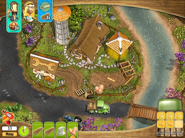 Screenshot van het spel  «Youda Farmer 3: Seasons» № 2